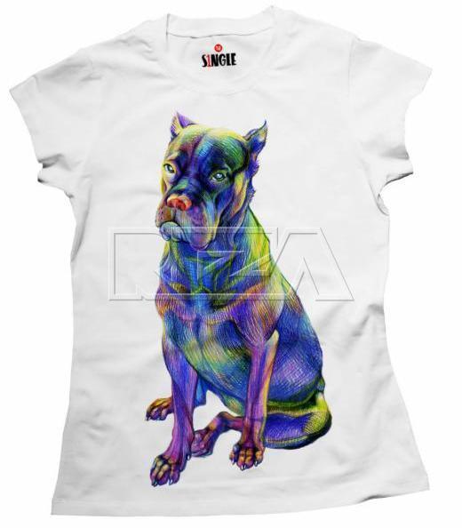 полноцветная шелкография на футболках